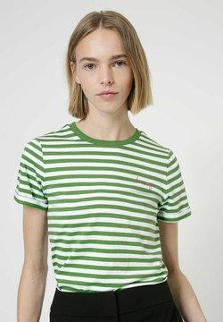 HUGO - T-Shirt print - green