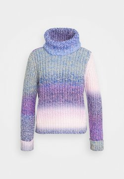ONLY - ONLSPACE ROLLNECK - Maglione - sodalite blue/lavender frost/blue