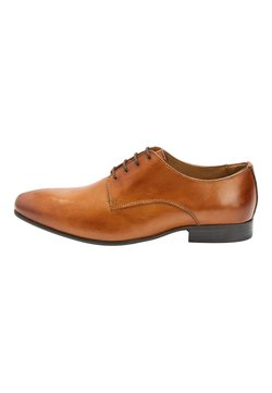 Next - TAN DERBY SHOES - Business-Schnürer - mottled brown