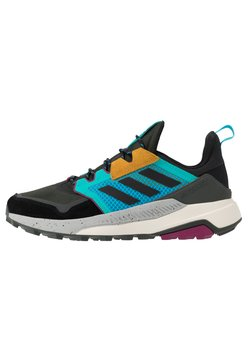 adidas Performance - adidas TERREX TRAILMAKER WANDERSCHUHE - Outdoorschoenen - legend earth/core black