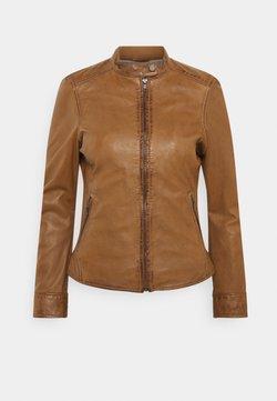 Oakwood - LINA - Leather jacket - cognac
