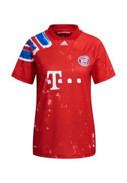 adidas Performance - REPLICAS - TRIKOTS - INTERNATIONAL FC BAYERN  - T-Shirt print - rotweiss