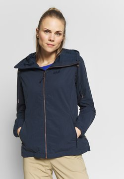 Jack Wolfskin - LAKESIDE JACKET  - Outdoorjacke - midnight blue
