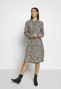 Object - OBJBAY DRESS REPEAT - Blusenkleid - humus/new animal