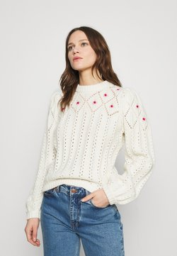 Notes du Nord - TALLY - Strickpullover - winter white