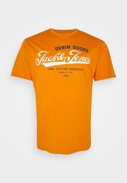 Jack & Jones - JJELOGO TEE O NECK - T-shirt imprimé - hawaiian sunset