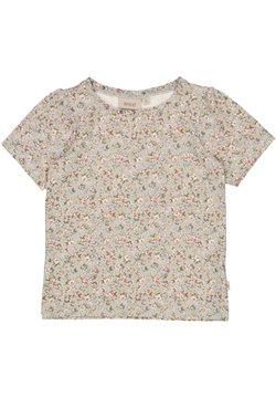 Wheat - T-shirt print - dusty dove flowers