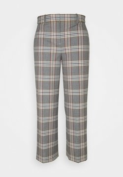 J.CREW - PEYTON PANT IN PLAID - Stoffhose - bronzed ochre/rust