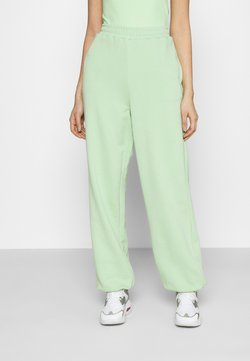 NA-KD - NA-KD X ZALANDO EXCLUSIVE - LOOSE FIT PANTS - Jogginghose - fresh green