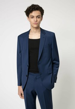 HUGO - SET - Anzug - open blue