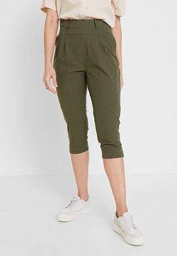 Kaffe - JILLIAN CAPRI PANTS - Shorts - grape leaf