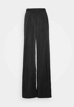 Glamorous - WIDE LEG TROUSERS - Broek - black