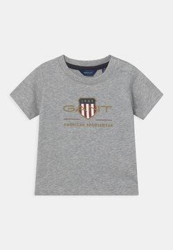 GANT - ARCHIVE SHIELD - T-shirt print - light grey melange