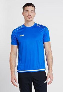 JAKO - TRIKOT STRIKER 2.0 - T-Shirt print - royal/weiß