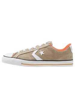 Converse - STAR PLAYER - Sneakers laag - khaki/white/bold mandarin