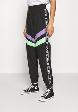 Karl Kani - TAPE BLOCK TRACKPANTS  - Jogginghose - black