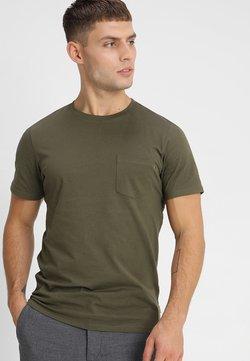 Jack & Jones - JJEPOCKET  - Camiseta básica - olive night