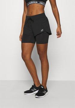 New Balance - IMPACT RUN - Pantalón corto de deporte - black