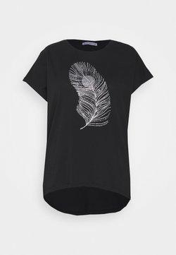Anna Field Curvy - T-shirts med print - black