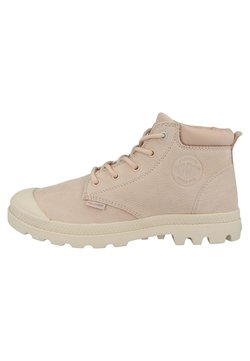 Palladium - LOW CUF LEA  - Ankle Boot - pink/dust-sand