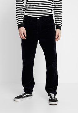 Carhartt WIP - NEWEL - Pantalon classique - dark navy rinsed