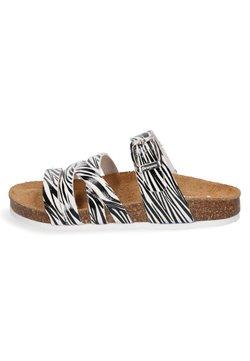 Braqeez - SPAIN  - Pantolette flach - zebra