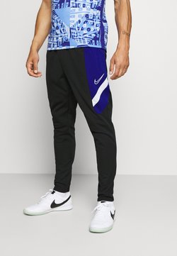 Nike Performance - DRY ACADEMY PANT  - Jogginghose - black/deep royal blue/white