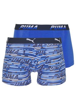 Puma - LOGO 2 PACK - Shorty - blue combo