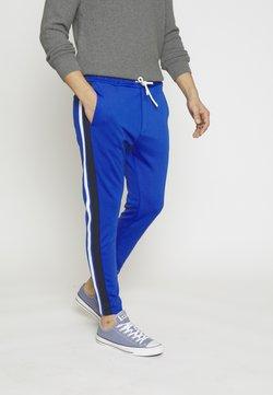 TOM TAILOR DENIM - JOGPANTS TAPES - Jogginghose - bright king blue