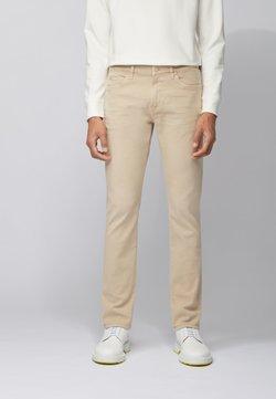 BOSS - DELAWARE - Jeans Slim Fit - beige