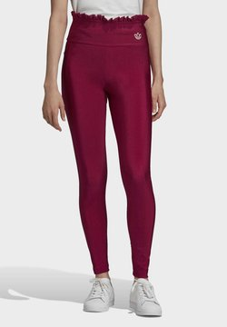 adidas Originals - BELLISTA SPORTS INSPIRED SLIM TIGHTS - Leggings - Hosen - power berry