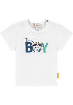 Steiff Collection - HIGH FIVE MIT SCHRIFTZUG - T-shirt print - bright white