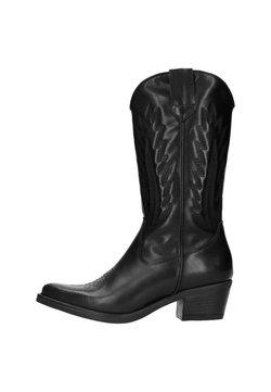 Manfield - Cowboy-/Bikerboot - black