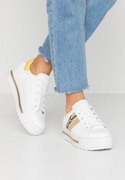 Gabor Comfort - Sneakers laag - weiß/sun