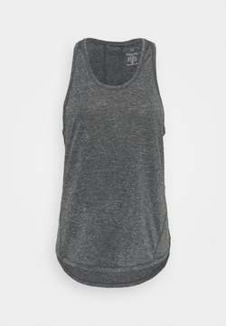 Sweaty Betty - ENERGISE WORKOUT VEST - Camiseta de deporte - black marl