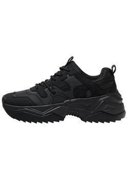 Bershka - MIT FUNKTIONSSTOFFDETAILS  - Sneaker low - black