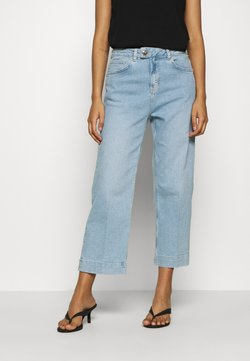 Mos Mosh - BAILEY SWIFT  - Flared Jeans - light blue