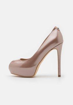 Guess - High Heel Peeptoe - blush