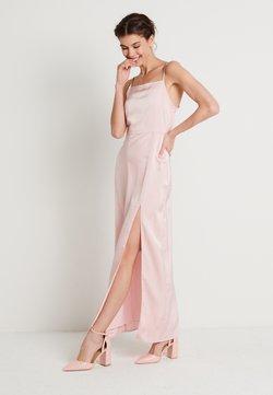 NA-KD - HIGH SLIT DRESS - Maxi dress - dusty pink