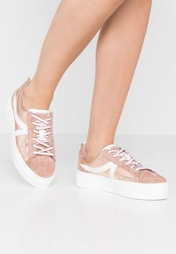 Tamaris - LACE-UP - Sneakers - rose metallic