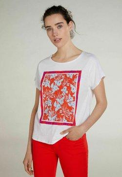 Oui - T-Shirt print - optic white