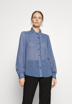 Freequent - JAMORA - Camicia - medium blue