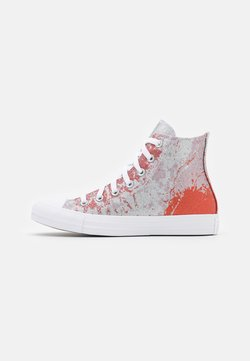 Converse - CHUCK TAYLOR ALL STAR SHIMMER AND SHINE - Zapatillas altas - fire pit/himalayan salt/white