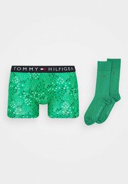 Tommy Hilfiger - TRUNK SOCK SET - Panty - green