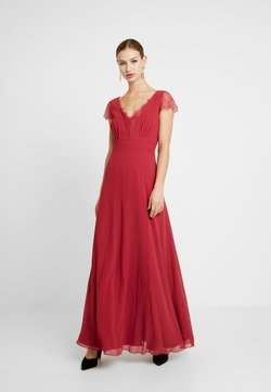 Little Mistress - BIANCA TRIM DRESS - Vestido de fiesta - raspberry