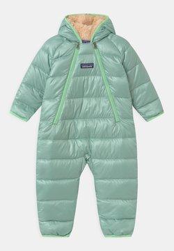 Patagonia - INFANT BUNTING UNISEX - Talvihaalari - gypsum green