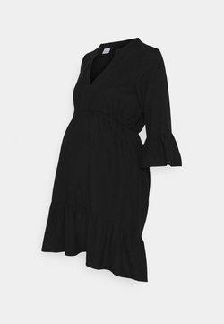 MAMALICIOUS - MLCHIA SHORT DRESS - Vardagsklänning - black