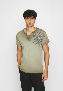 Key Largo - RIDING BUTTON - T-shirt print -  green