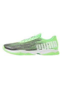 Puma - ADRENALITE 3.1 - Zapatillas de balonmano - elektro green/black/white