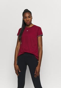 Tommy Hilfiger - FASHION PERFORMANCE TOP - Tekninen urheilupaita - rouge